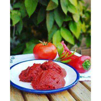Karışık domates biber salcası